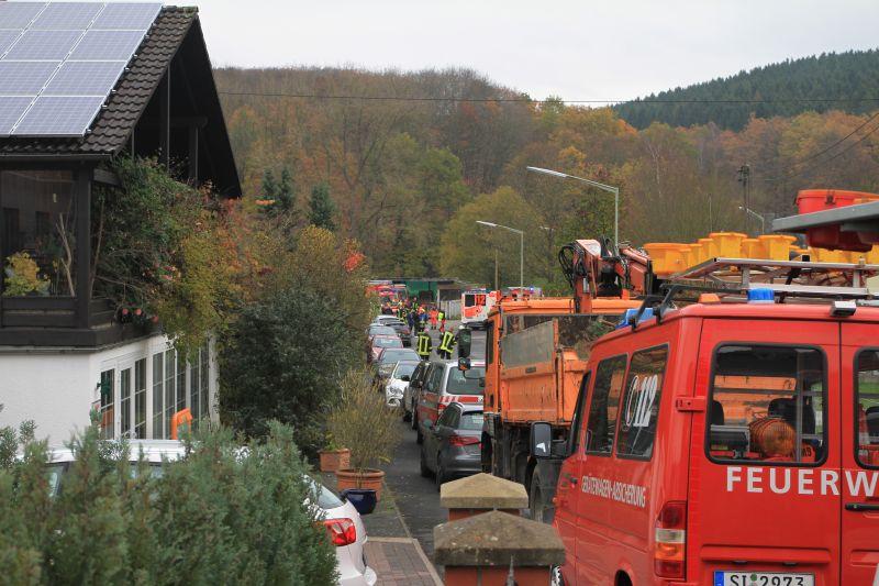 Brand in Altersheim