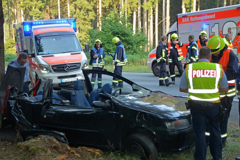 Schwerer Verkehrsunfall zwischen Wilden und Gilsbach