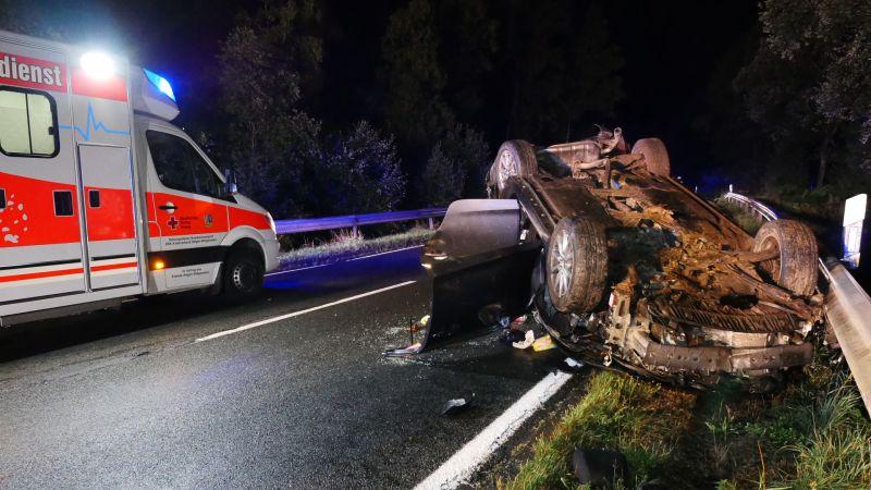 Schwerer Verkehrsunfall zwischen Burbach und Wilden