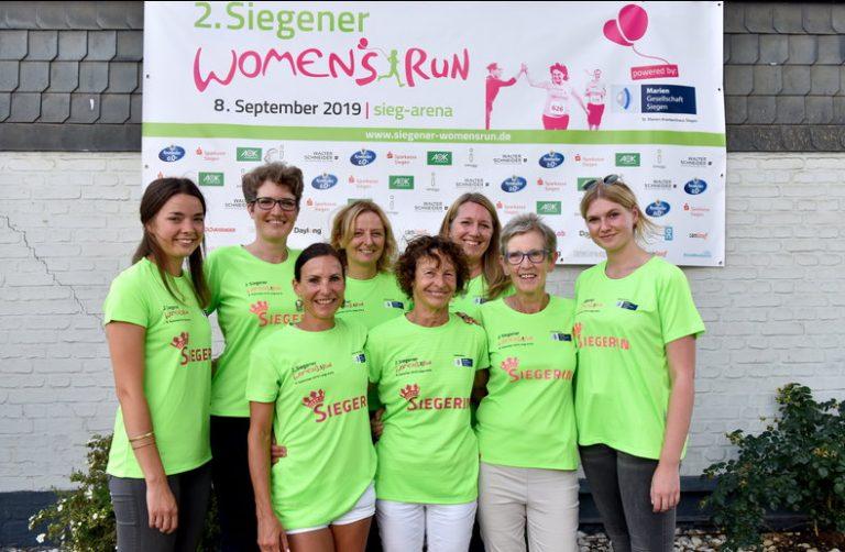 2. Siegener Womens Run - 1.000 Läuferinnen werden